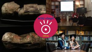 MJU Vlogt! Wie maakten de Egyptische koningsgraven?
