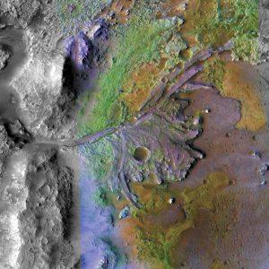 Jezero Delta Mars